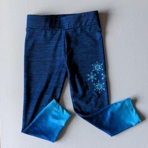 Frozen Snowflakes Leggings * 3 Toddler